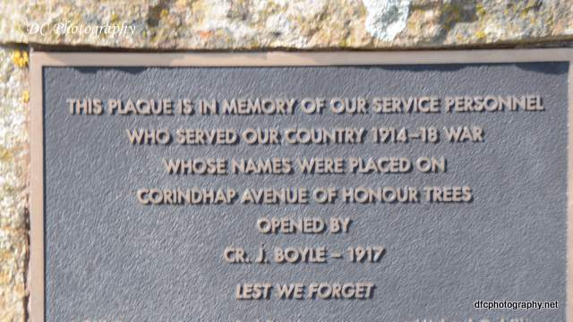 Corindhap Avenue of Honour
